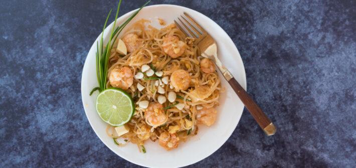 Pad Thai - schnelles Nudelgericht